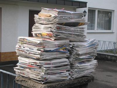 Termine für Altpapiersammlung in Steinbrink, Nordel und Essern in 2018
