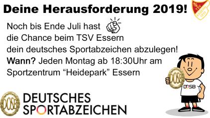 Deutsches Sportabzeichen 2019©TSV Essern