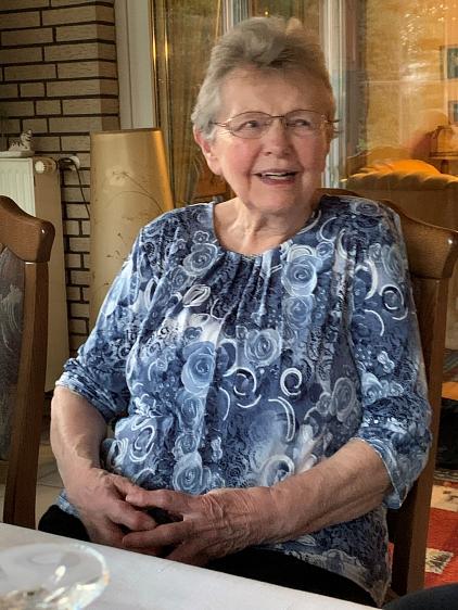 Edith Kurre wurde am 05.02.2020 85 Jahre alt©TSV Essern