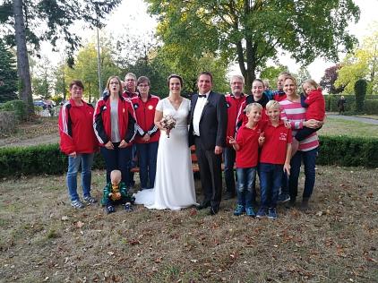 Hochzeit Julia und Julian©TSV Essern