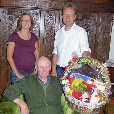 Der TSV gratuliert Jochen Waltke zum 85. Geburtstag