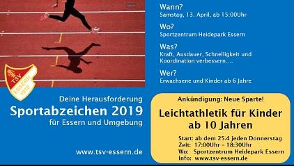 Sportabzeichen Jugend©TSV Essern