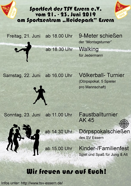 Sportfest 2019 des TSV Essern©TSV Essern